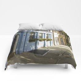 Charleston SC No. 4  Rainbow Row Comforters