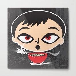 Noodle Boy Metal Print