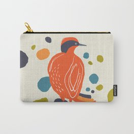 Quirky Helmeted Honeyeater Carry-All Pouch