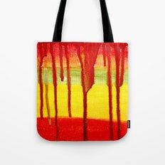 Bleed  Through Tote Bag