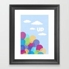 Pixar/Disney Up (Print 2) Framed Art Print