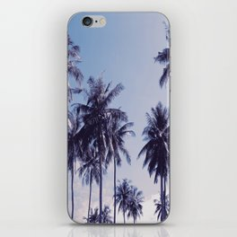 Palm trees 2 iPhone Skin