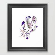 Hidden panda Framed Art Print