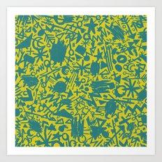 Synapses Art Print