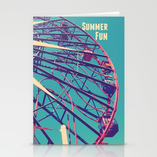 Summer Fun Stationery Cards