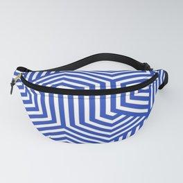 Denim blue - blue - Minimal Vector Seamless Pattern Fanny Pack