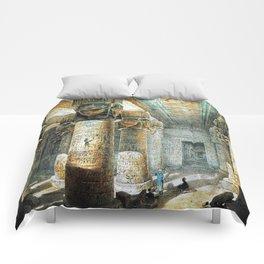 Tempel Dendera Comforters