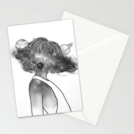 Into the universe. Stationery Cards