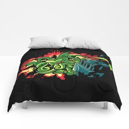 Brickthulhu Comforters