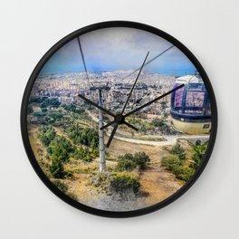 Trapani art 7 Wall Clock
