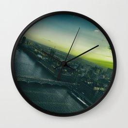 Sunset, in London Wall Clock