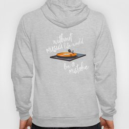 Without Music, Life Would Be a Mistake-Friedrich Nietzsche-vinyl records Hoody