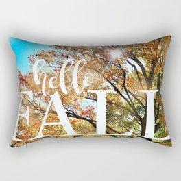 Hello Fall! Rectangular Pillow