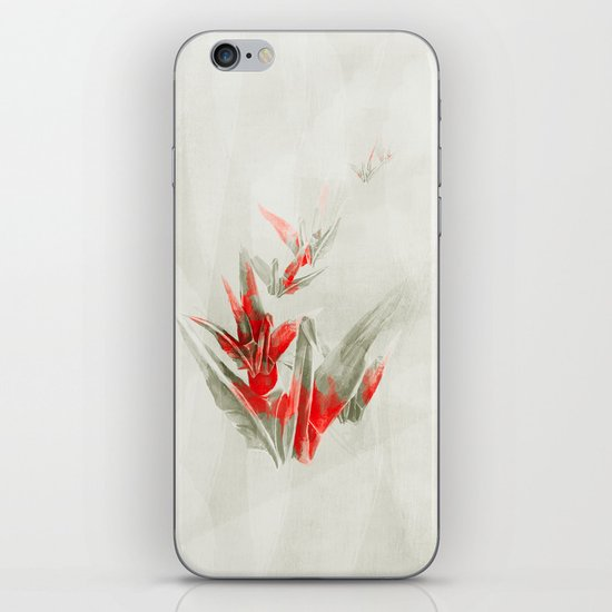 Paper Cranes iPhone & iPod Skin