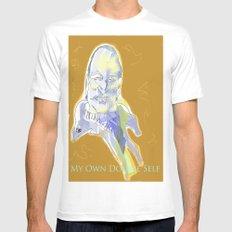 Ingmar Bergman MEDIUM White Mens Fitted Tee