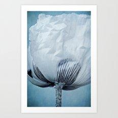 paper sky Art Print
