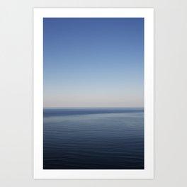 The open Ocean 1 Art Print