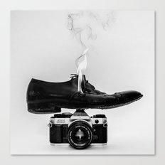 Hot Shoe Canvas Print