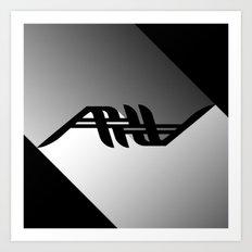 AV Shadows Art Print