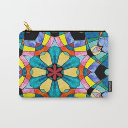 fractal V Carry-All Pouch