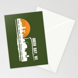 Green Bay's Charm Stationery Cards