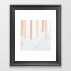 Japanese Pattern: Autumn Framed Art Print