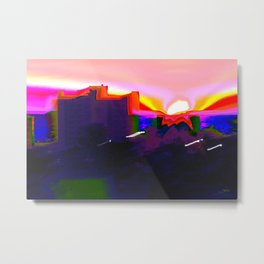 Is That a Sunset? Metal Print