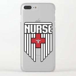 Nurse Shield Clear iPhone Case