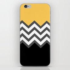 Color Blocked Chevron 6 iPhone & iPod Skin
