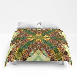 Rusty Bedford Truck Kaleidoscope Comforters