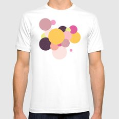 Balloons//Two MEDIUM Mens Fitted Tee White