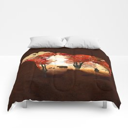 Bears in the Woods Comforters