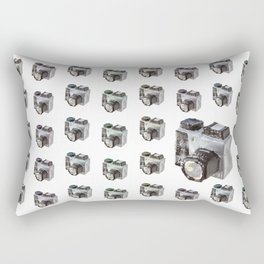 Paper Camera Rectangular Pillow