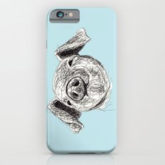Baby Animals - Pig (Blue) Slim Case iPhone 6s