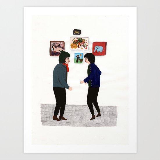 to meet Art Print