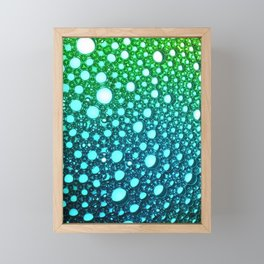 Bubbles Framed Mini Art Print