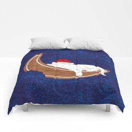 Gingerbread Kitty Comforters