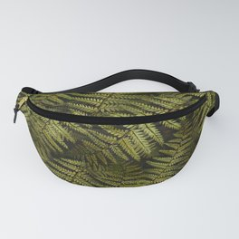 Among the ferns in the forest (military green) Fanny Pack