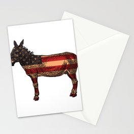 Abstract Donkey Illustration Stationery Cards