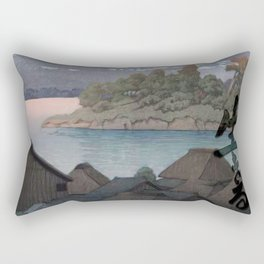 The Kawaguchi Trail Rectangular Pillow