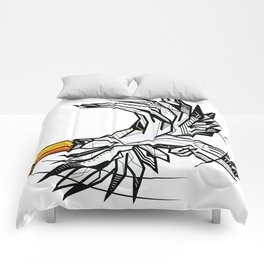Toucan bird geometric Comforters