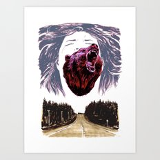 Cry for the lost Art Print