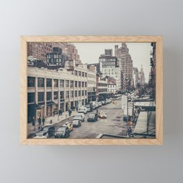 Tough Streets - NYC Framed Mini Art Print