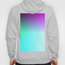 Six Color Ombre Cyan, Purple, Green, Pink, Purple, Blue, Spectrum Flame Hoody
