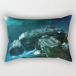 Journey home Rectangular Pillow