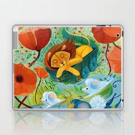 sleeping lion Laptop & iPad Skin
