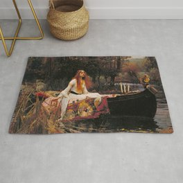 The Lady of Shalott Rug