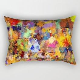 MuliColor-55 Rectangular Pillow