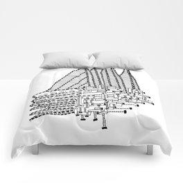 Armada Abstract Comforters