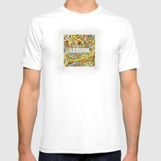 Lexicon Knox MEDIUM Mens Fitted Tee White